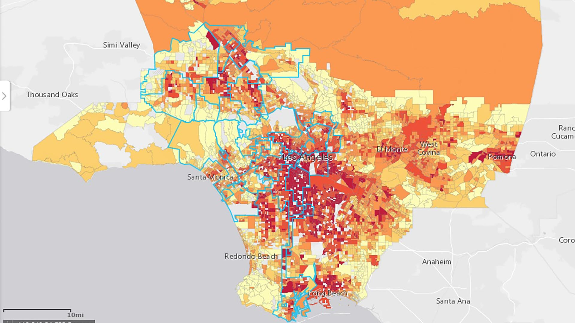 L.A. County Map