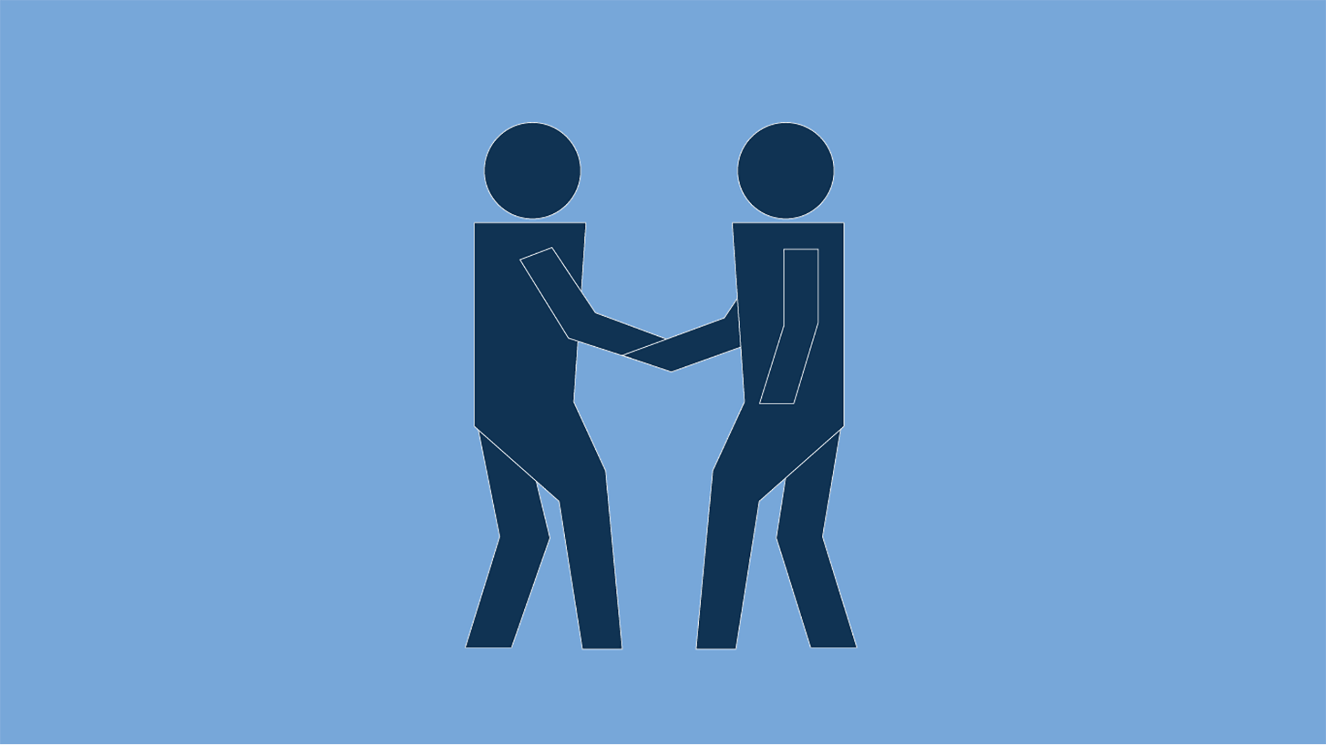 People icon shaking hands
