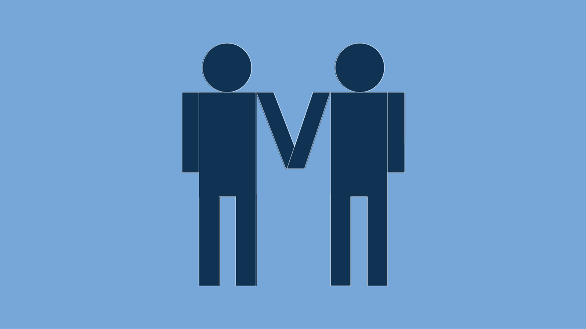 Same sex couple icon.
