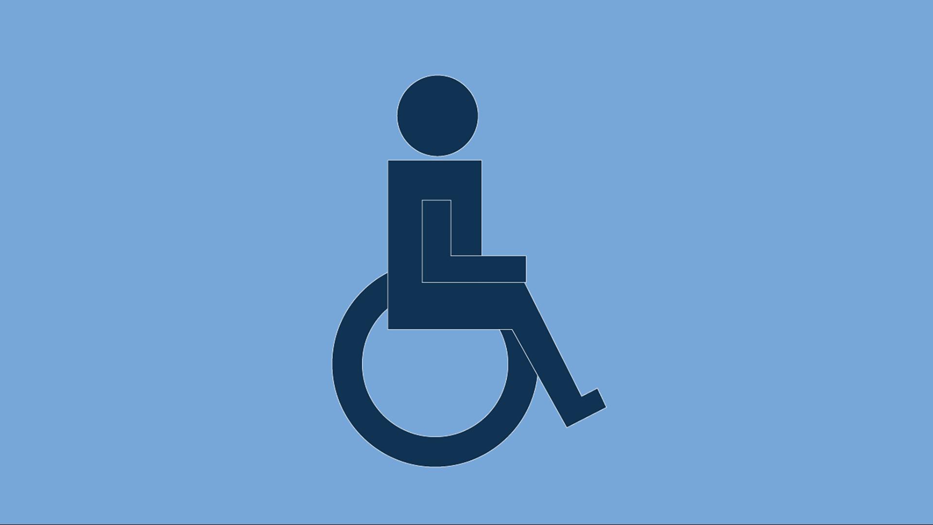 장애를 가진 개인을 위해